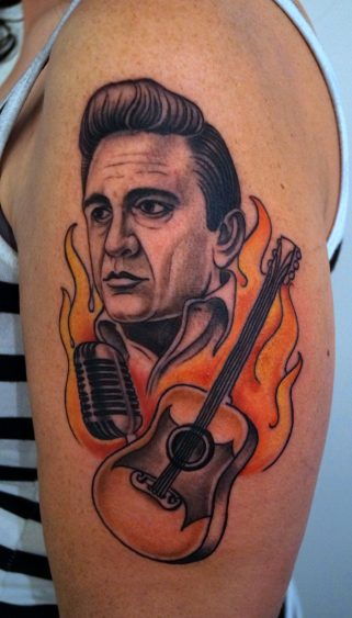 Johnny Cash gitaar